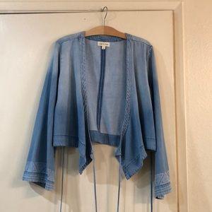 Women's cloth and stone wrap size medium